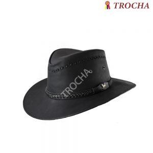 Sombrero Cuero Aussie Negro 9b9fa1b248e